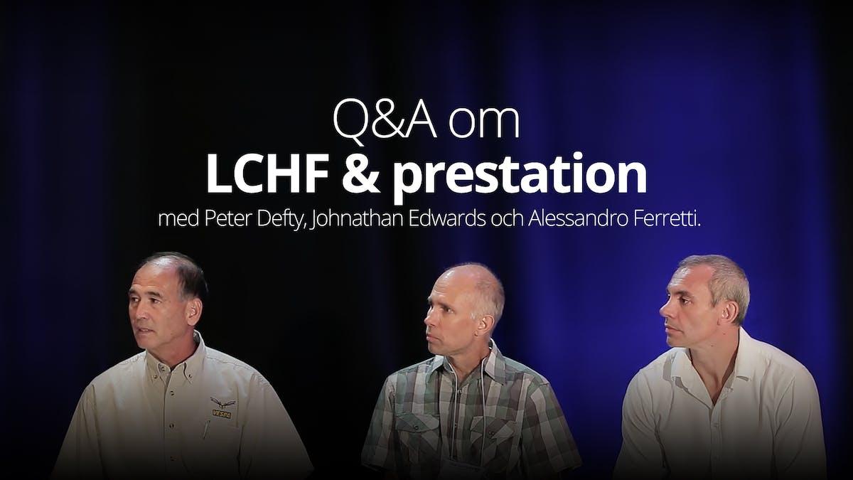 Frågor och svar om LCHF och prestation