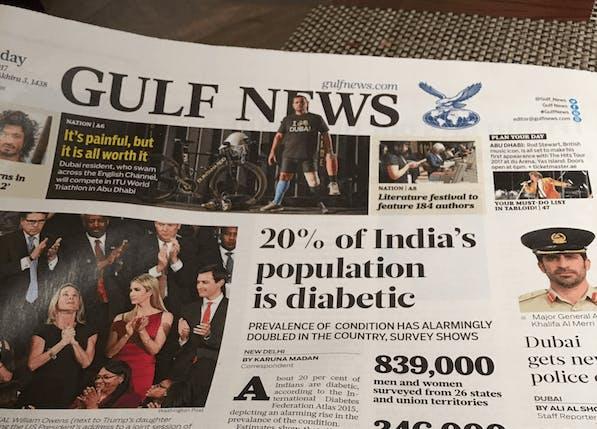 Ett sötare blod: En av fem i Indien har diabetes