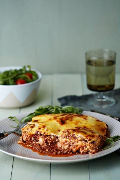 Lasagne med kalkonplattor<br />(Middag)
