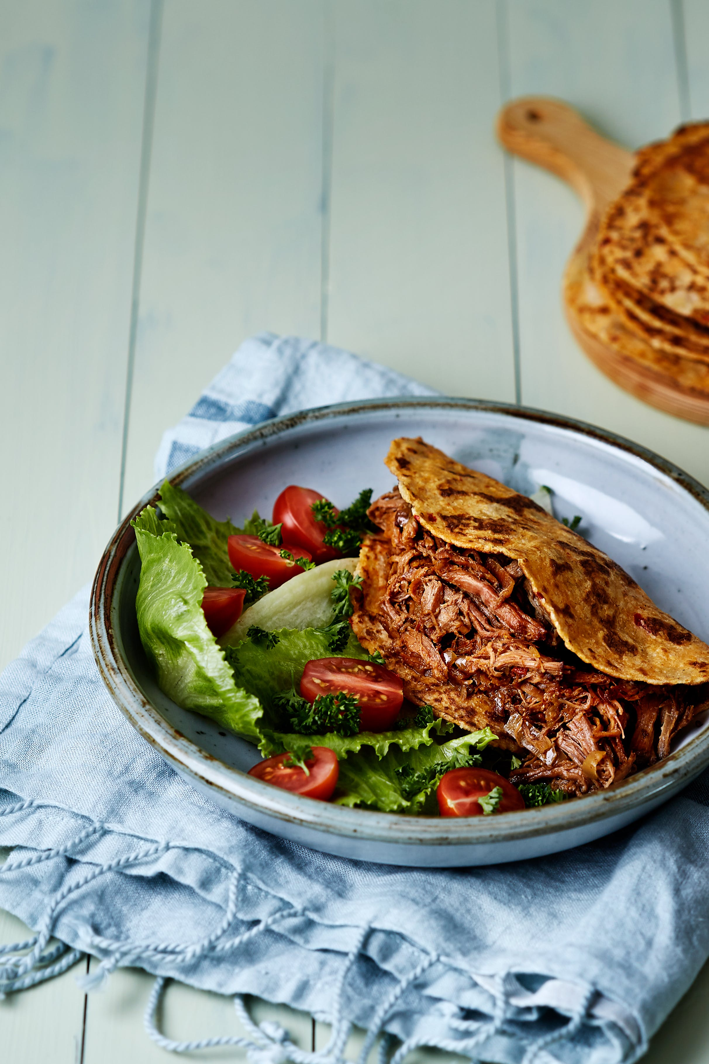 Marockansk pulled beef