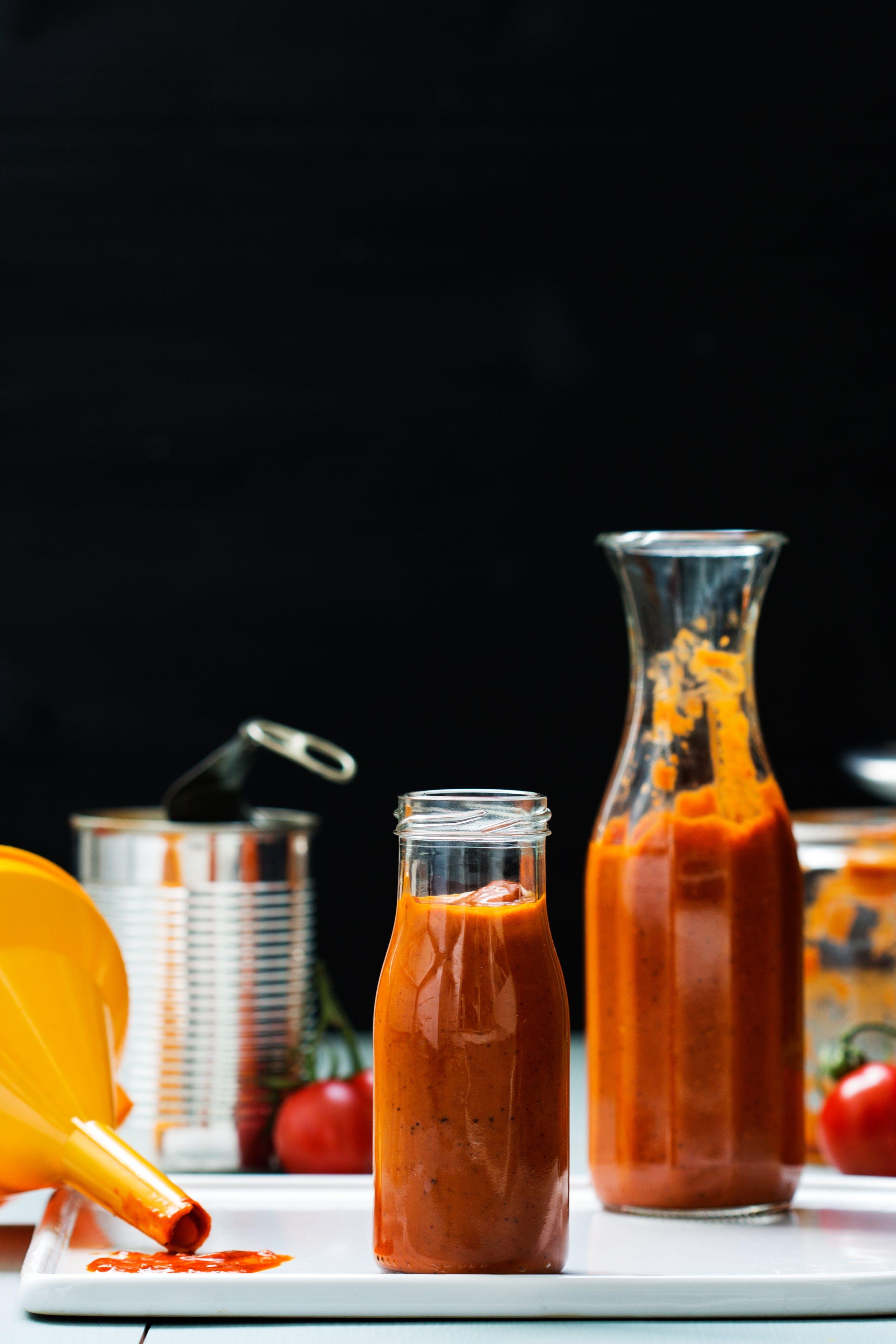 Sockerfri ketchup