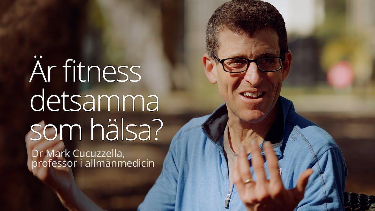 Är fitness detsamma som hälsa?