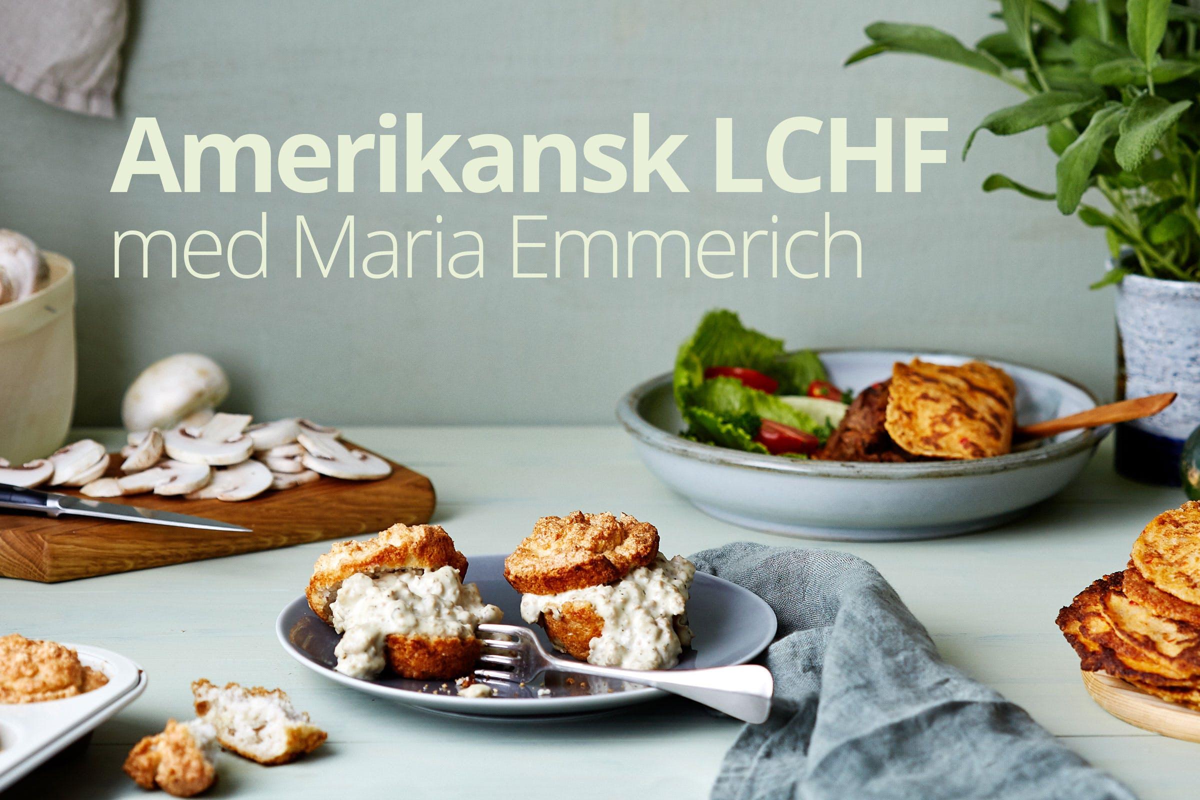 Amerikansk LCHF med Maria Emmerich