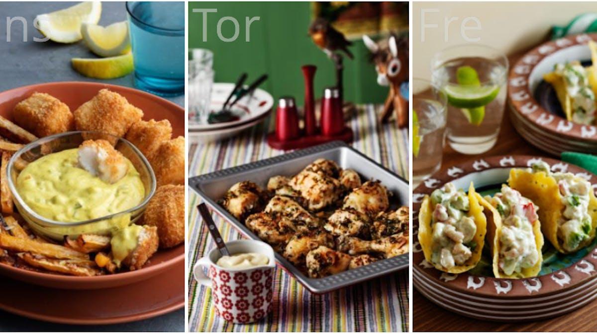 Länge efterfrågat: Byt ut måltider i våra veckomenyer!
