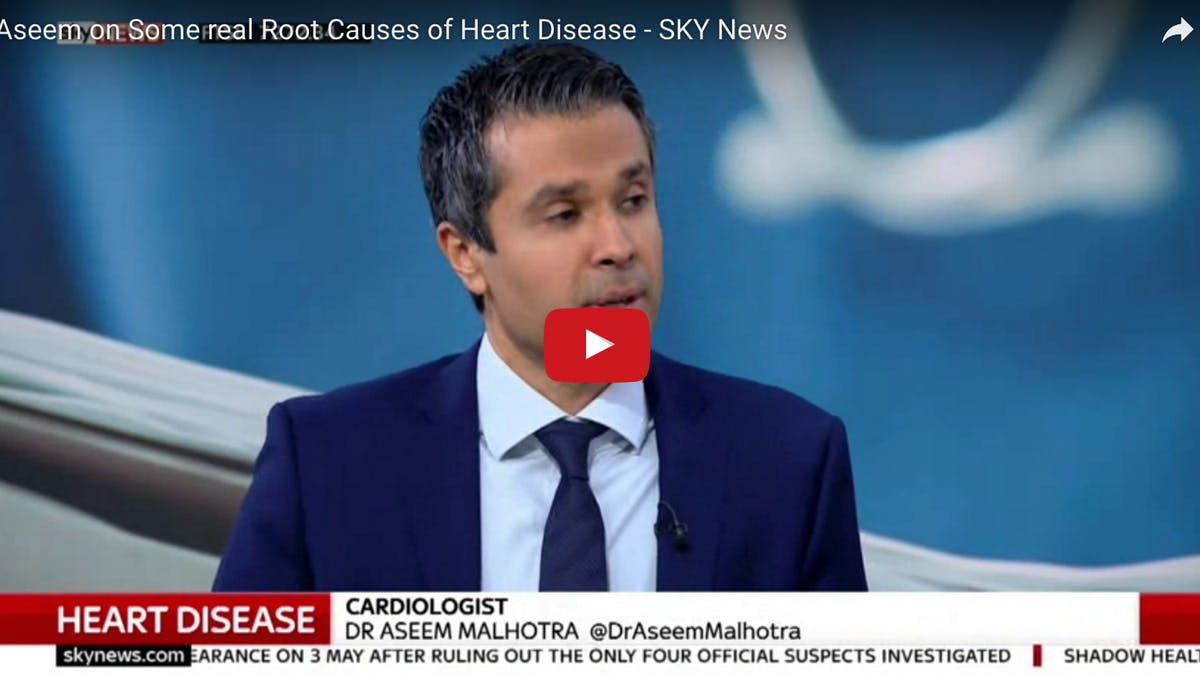 Dr Malhotra: Därför är det fel att koppla mättat fett till hjärtsjukdom