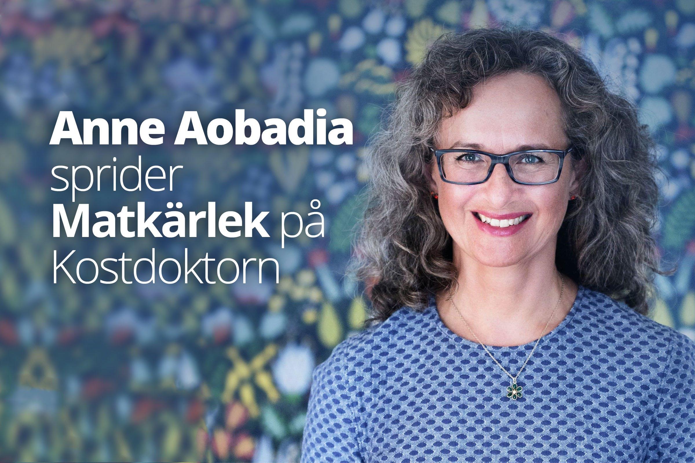 Diet Doctors receptkreatör Anne Aobadia på radio