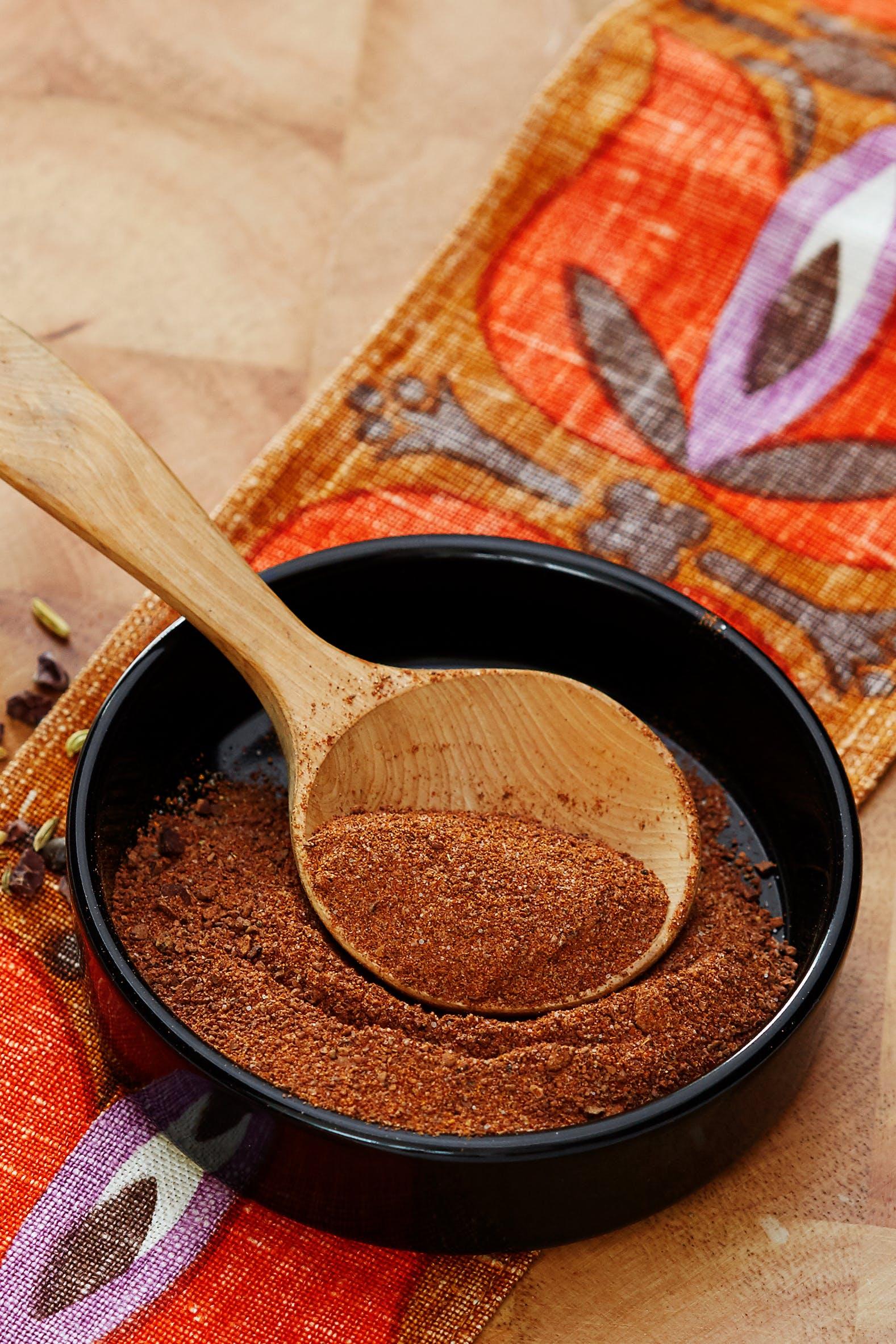 Grillrub med kakao