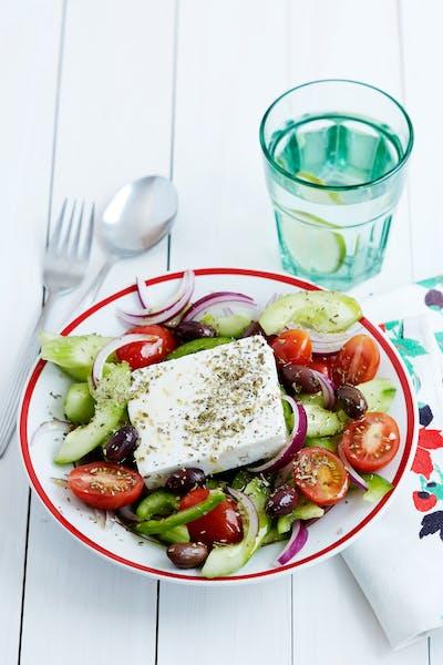 Grekisk sallad<br />(Lunch)