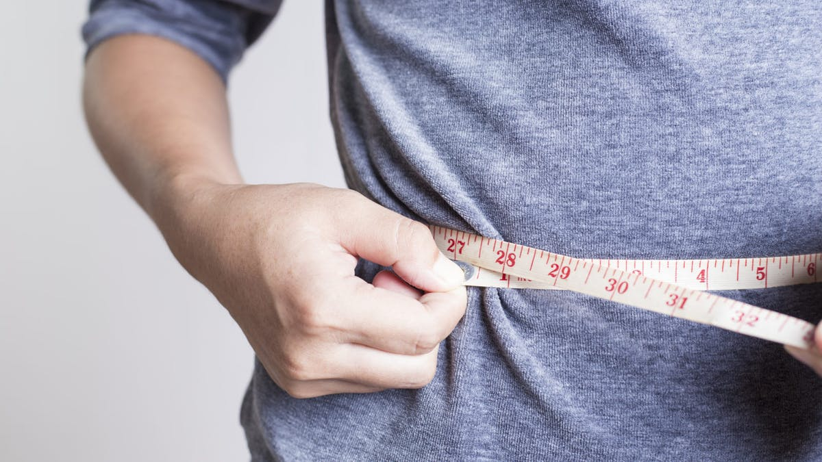 Måttband bättre än våg när det gäller att identifiera fetma