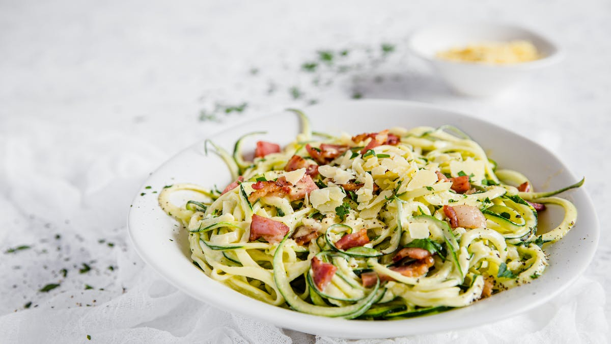 Zoodles Carbonara