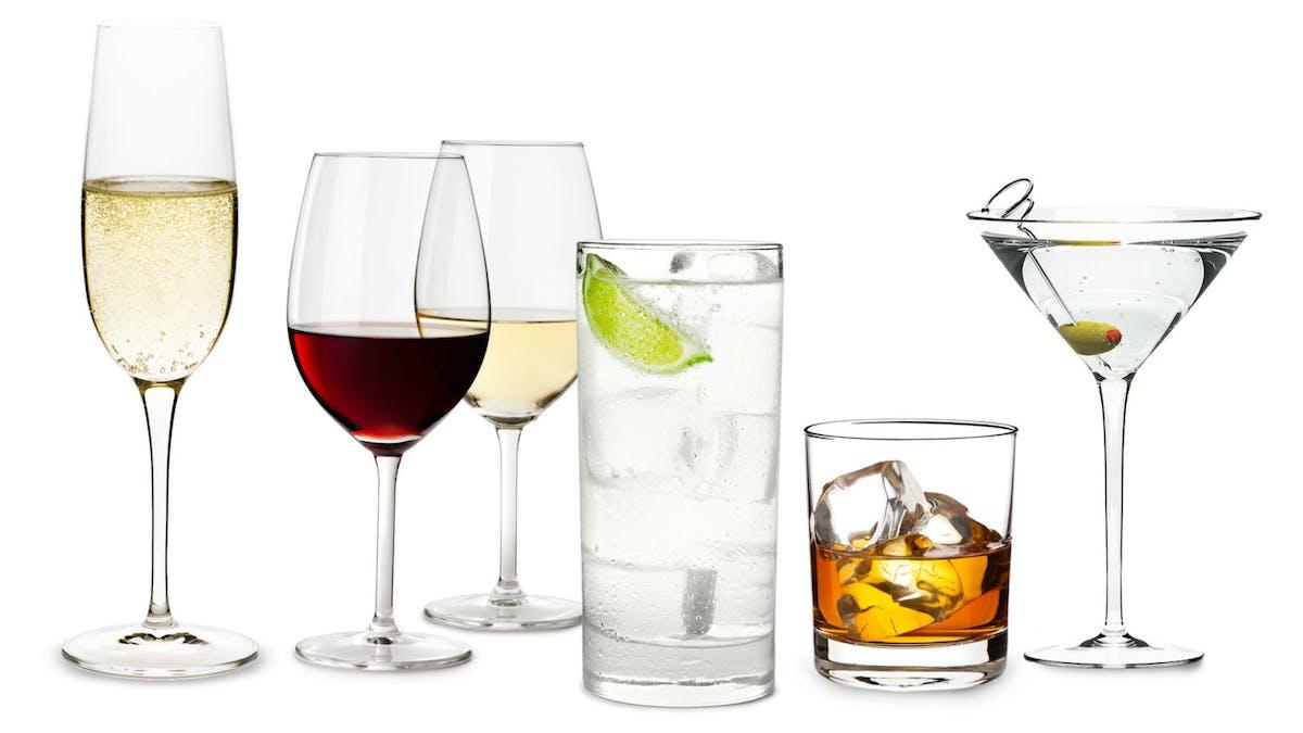 LCHF och alkoholhaltiga drycker – topplista