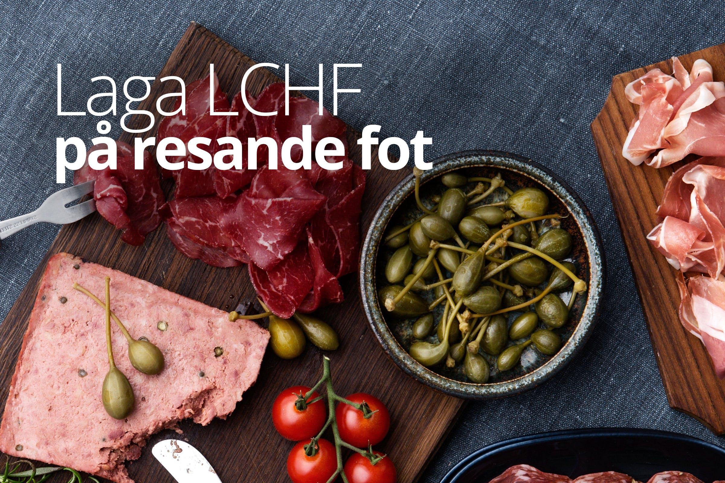 Laga LCHF på resande fot