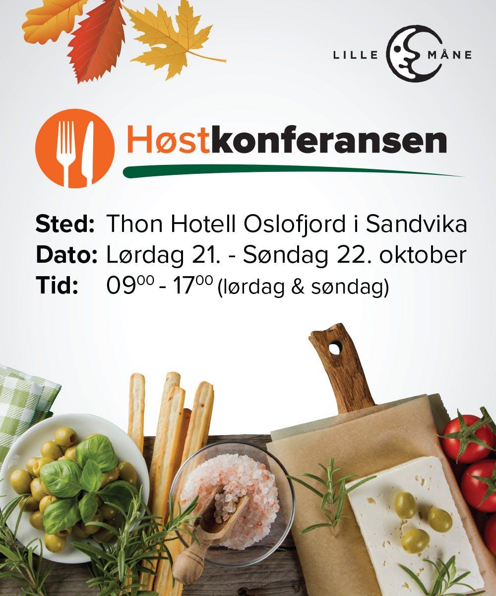 Høstkonferansen 2017 – Norges största LCHF-evenemang