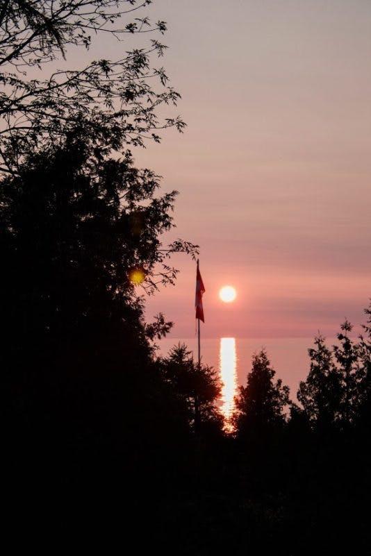 Cottage-sunset-534×801