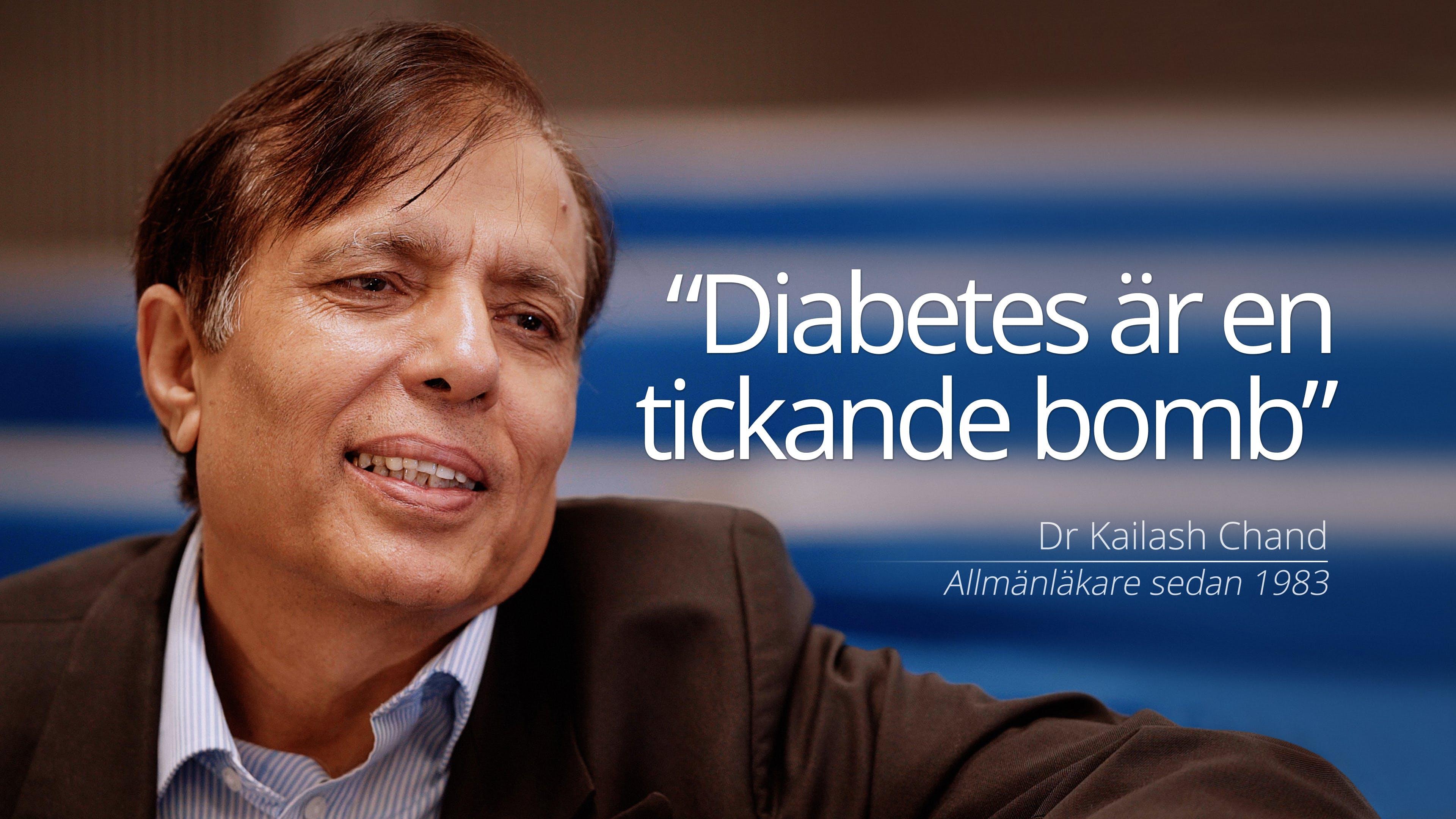 """Diabetes är en tickande bomb"""