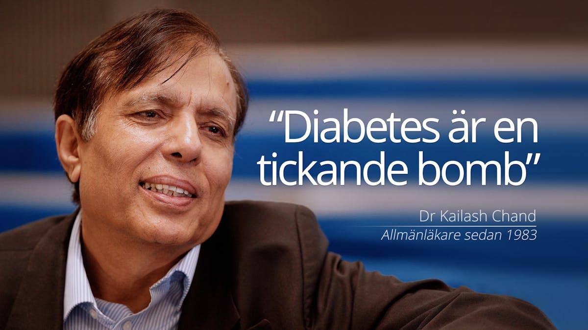 """Diabetesepidemin: """"Det är hög tid att göra något"""""""