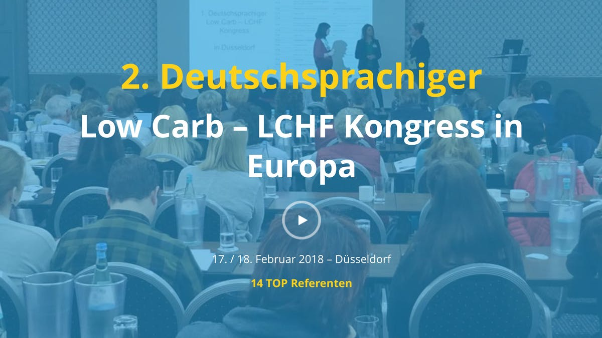 LCHF-kongress i Düsseldorf