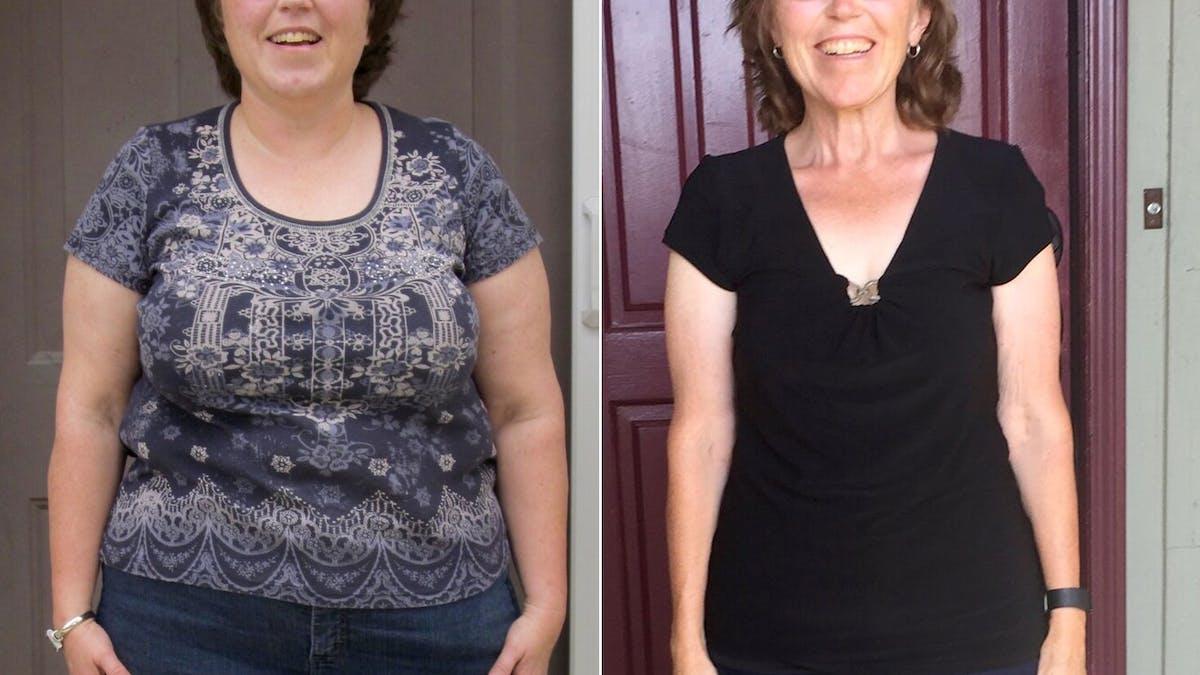 Minus 30 kilo och viktstabil sedan fem år