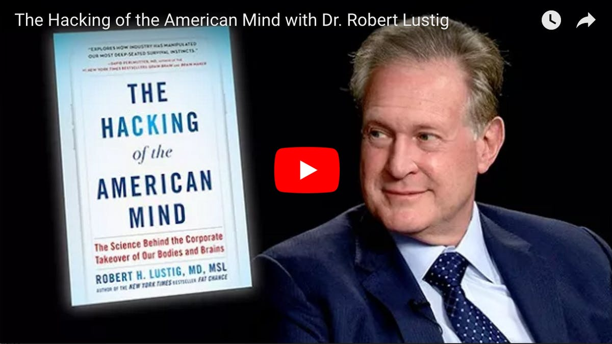 "Professor Lustig om ""The Hacking of the American Mind"""