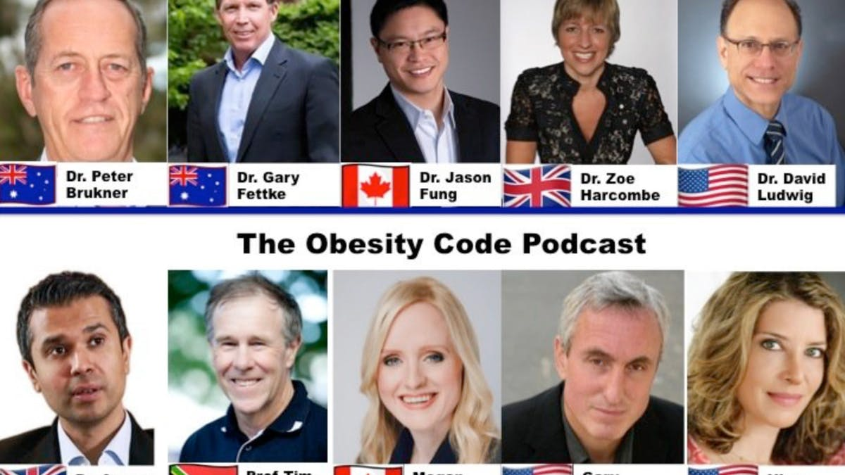 Ny podcast – The Obesity Code