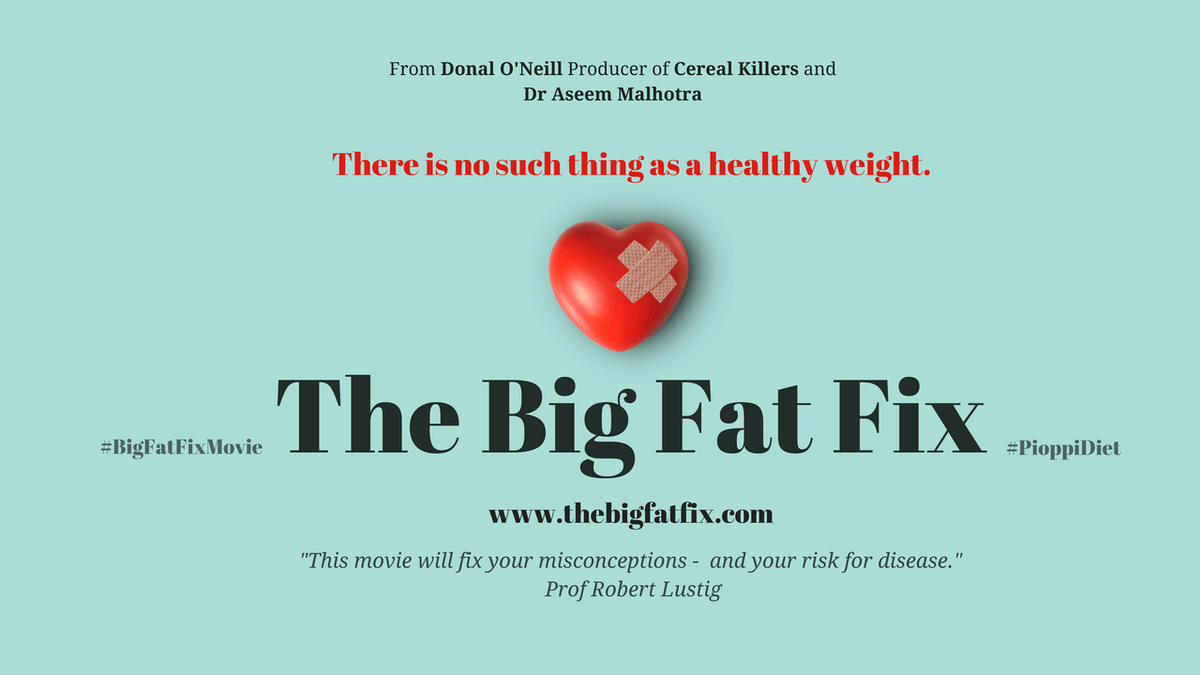 "Se filmen ""The Big Fat Fix"""