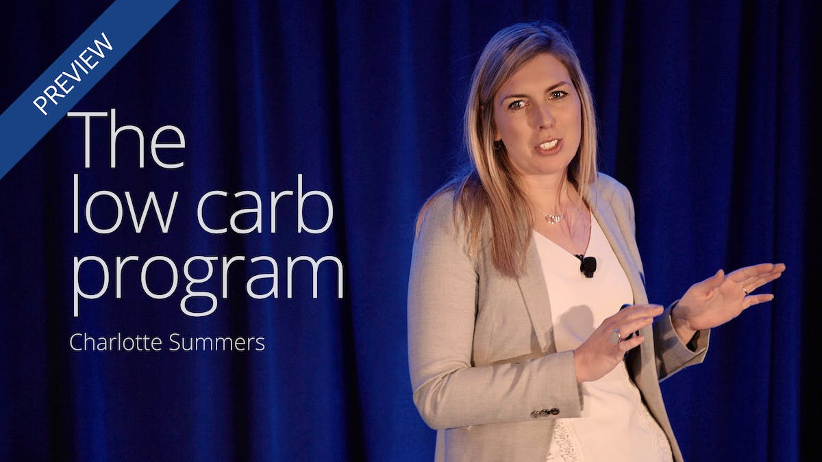 The low carb program