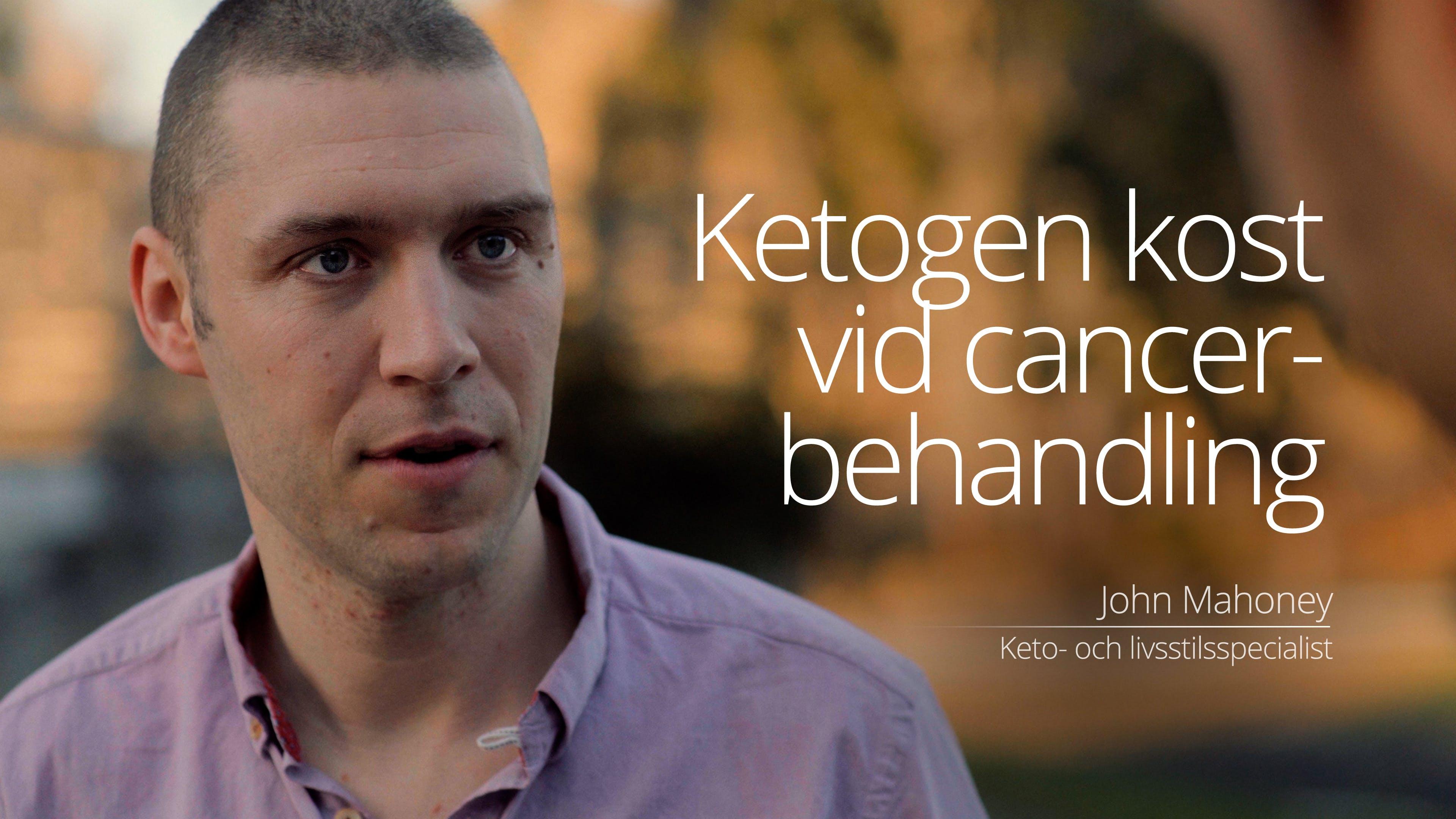 Ketogen kost vid cancerbehandling