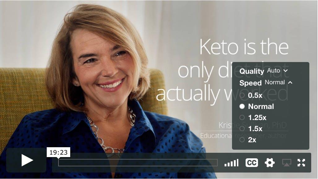 Äntligen: anpassa hastigheten på video