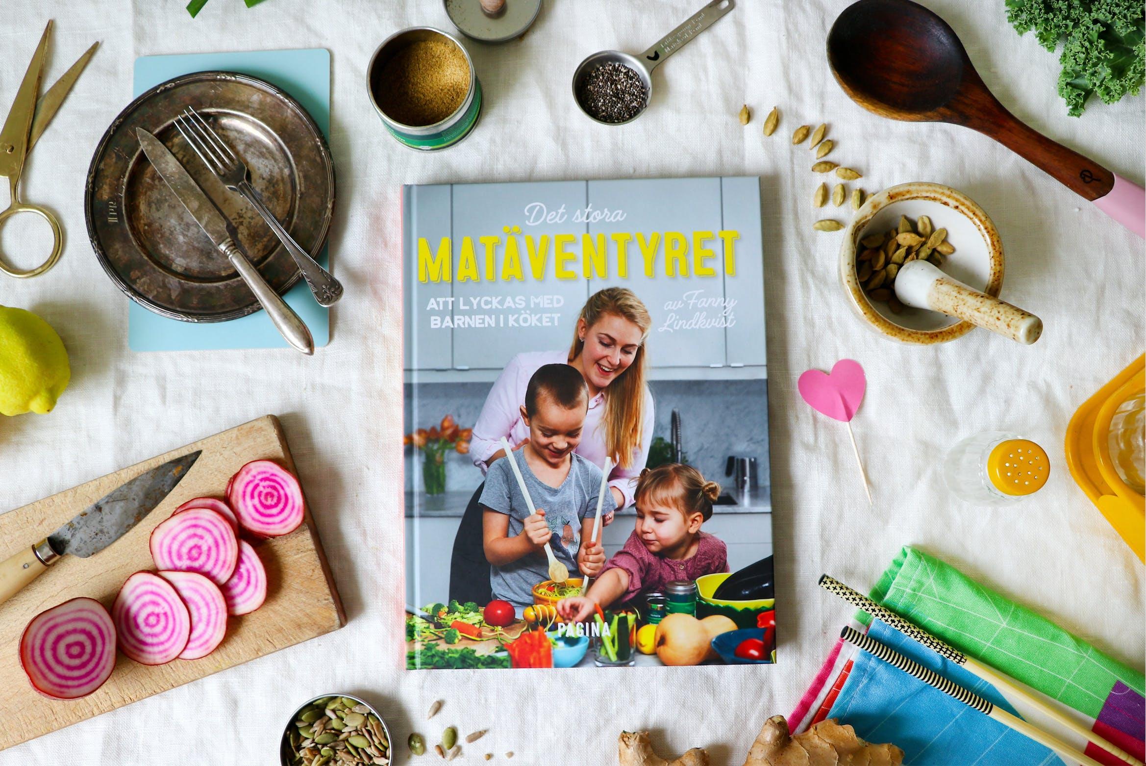 Ny bok: Det stora matäventyret