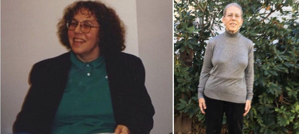 Att gå ner 45 kilo och hålla vikten i över tio år