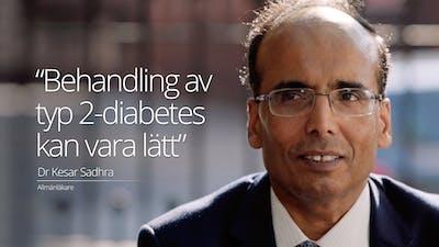 """""""Att behandla typ 2-diabetes kan vara enkelt"""""""