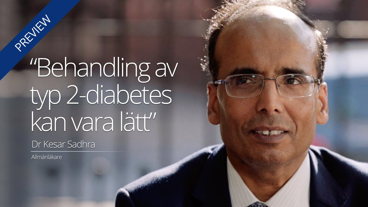 """Behandling av typ 2-diabetes kan vara lätt"""