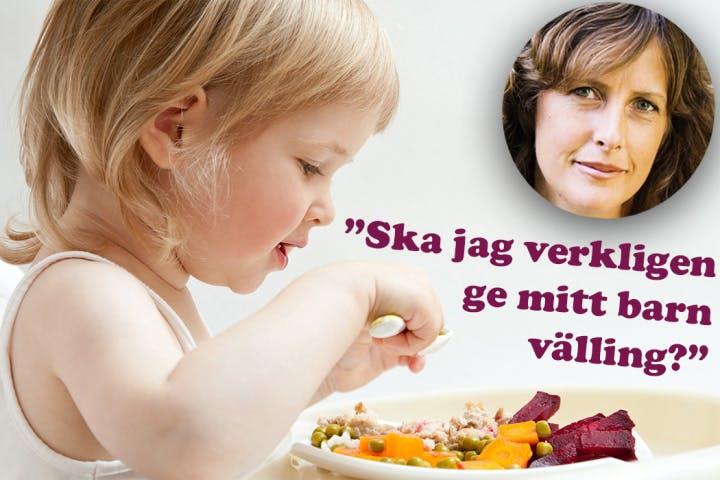 Ann Fernholm om mat för barn