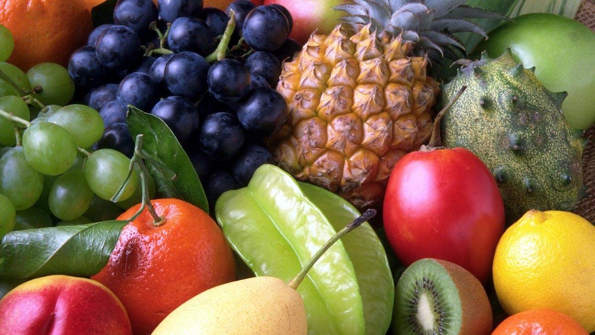 Äta mycket frukt?