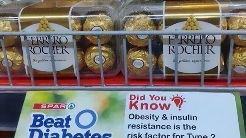 Bekämpa typ 2-diabetes... med chokladpraliner?