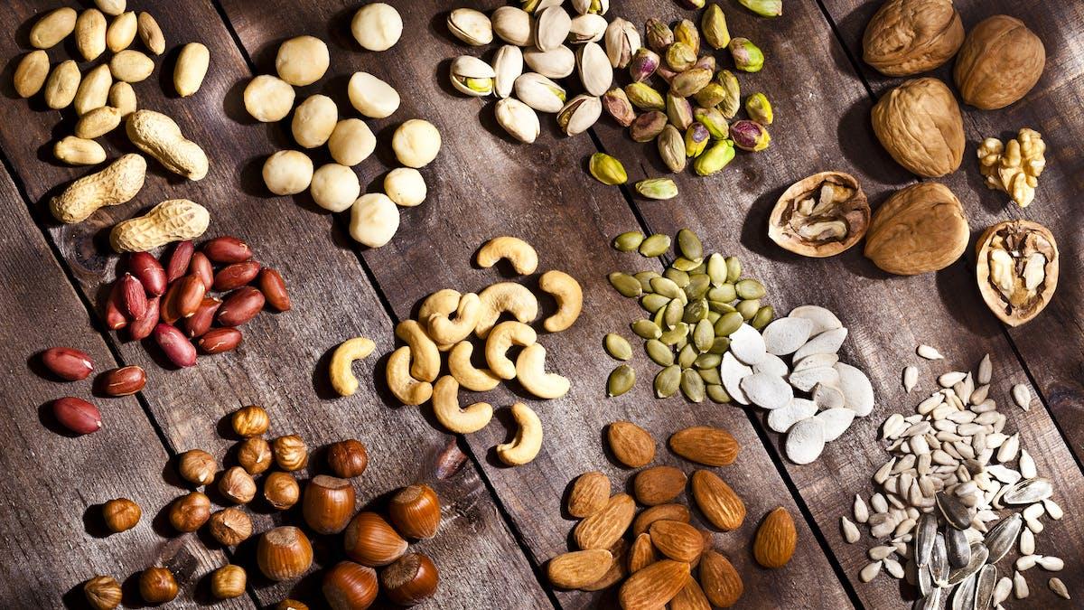 Tips #5 för vikten: Undvik mejeriprodukter och nötter