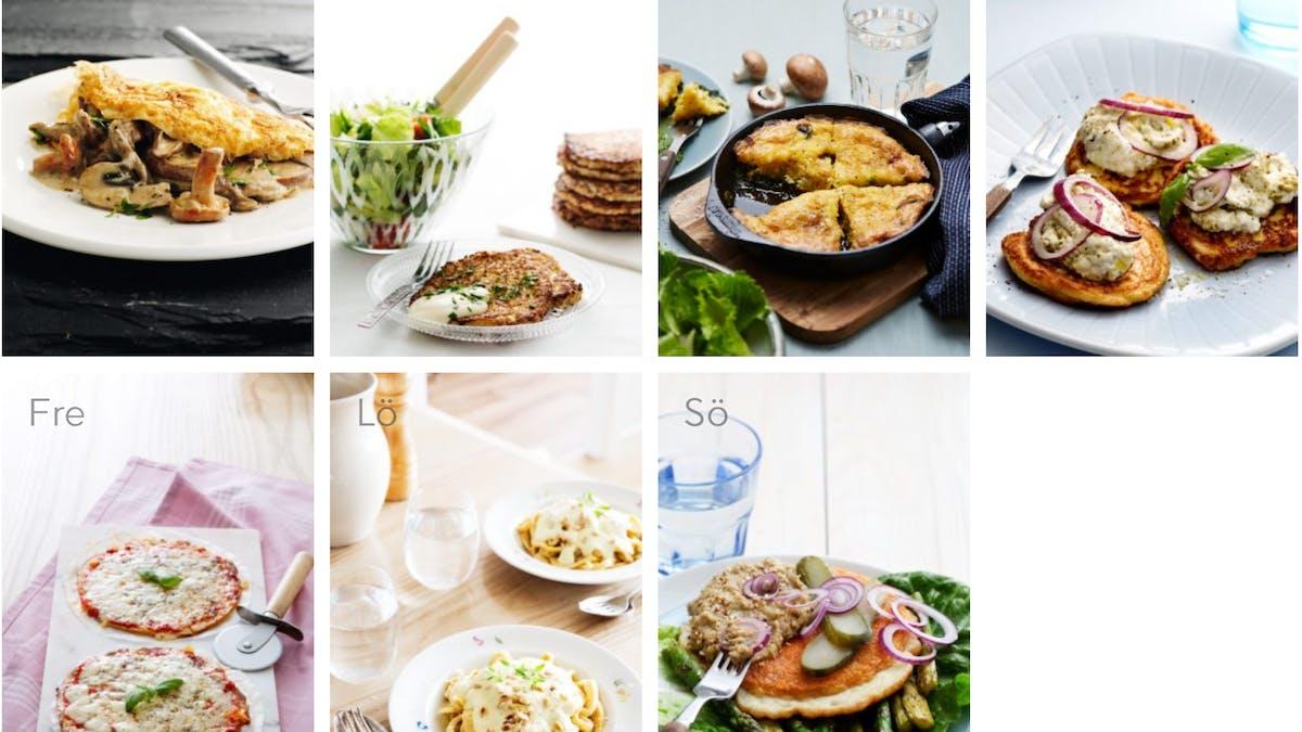 Strikt och vegetarisk vecka