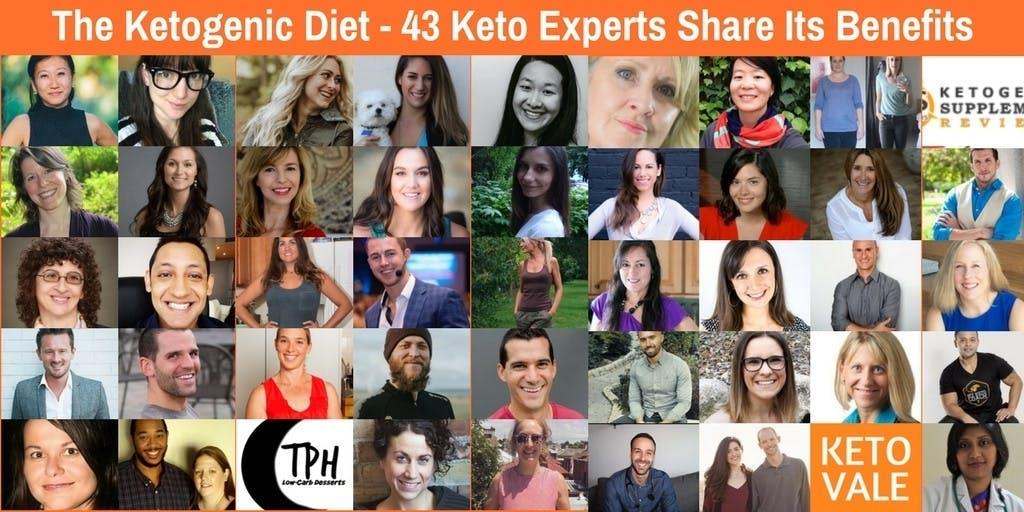 43 experter om fördelarna med ketogen kost