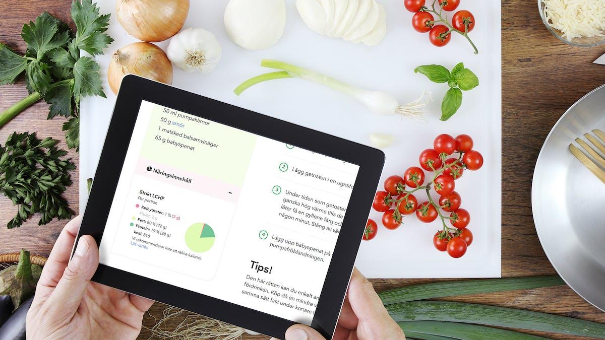 Vår mest efterfrågade receptfunktion – lanseras idag