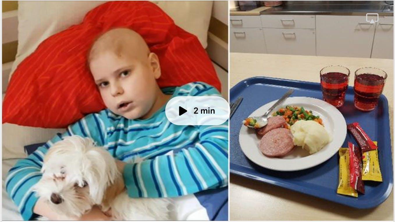 Mikromat till barn med cancer