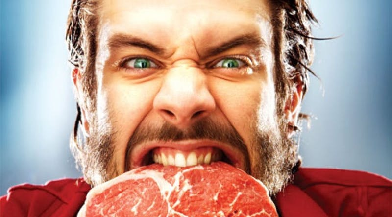 att äta kött