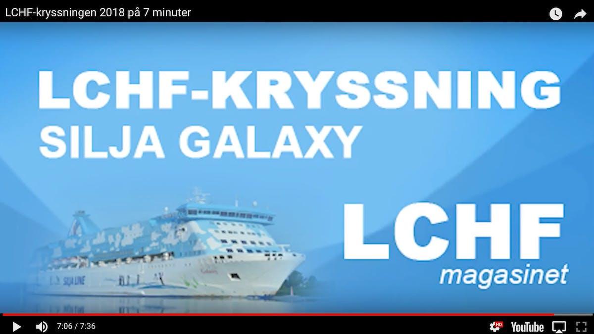 LCHF-kryssningen på sju minuter