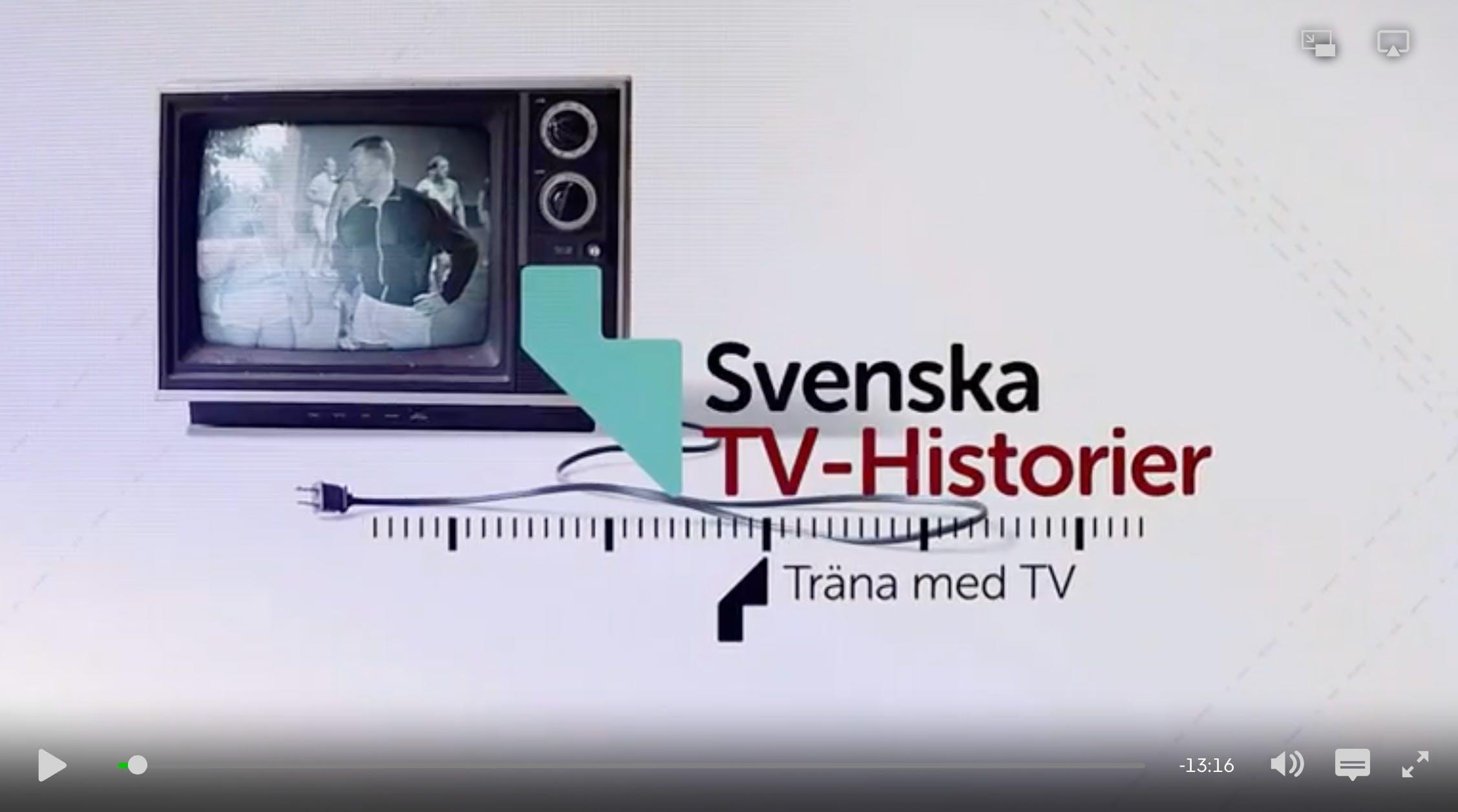 """Fina kostråd i """"Träna med tv"""""""