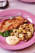 Smörstekt fisk med tandoorisås
