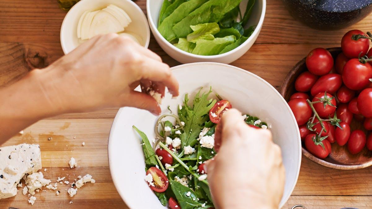 Kan man äta vegetarisk LCHF?