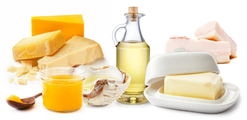 Saturated fat sources