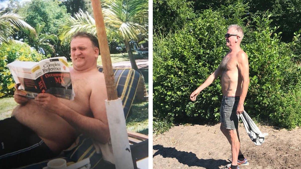 Thomas åt sig frisk från typ 2-diabetes
