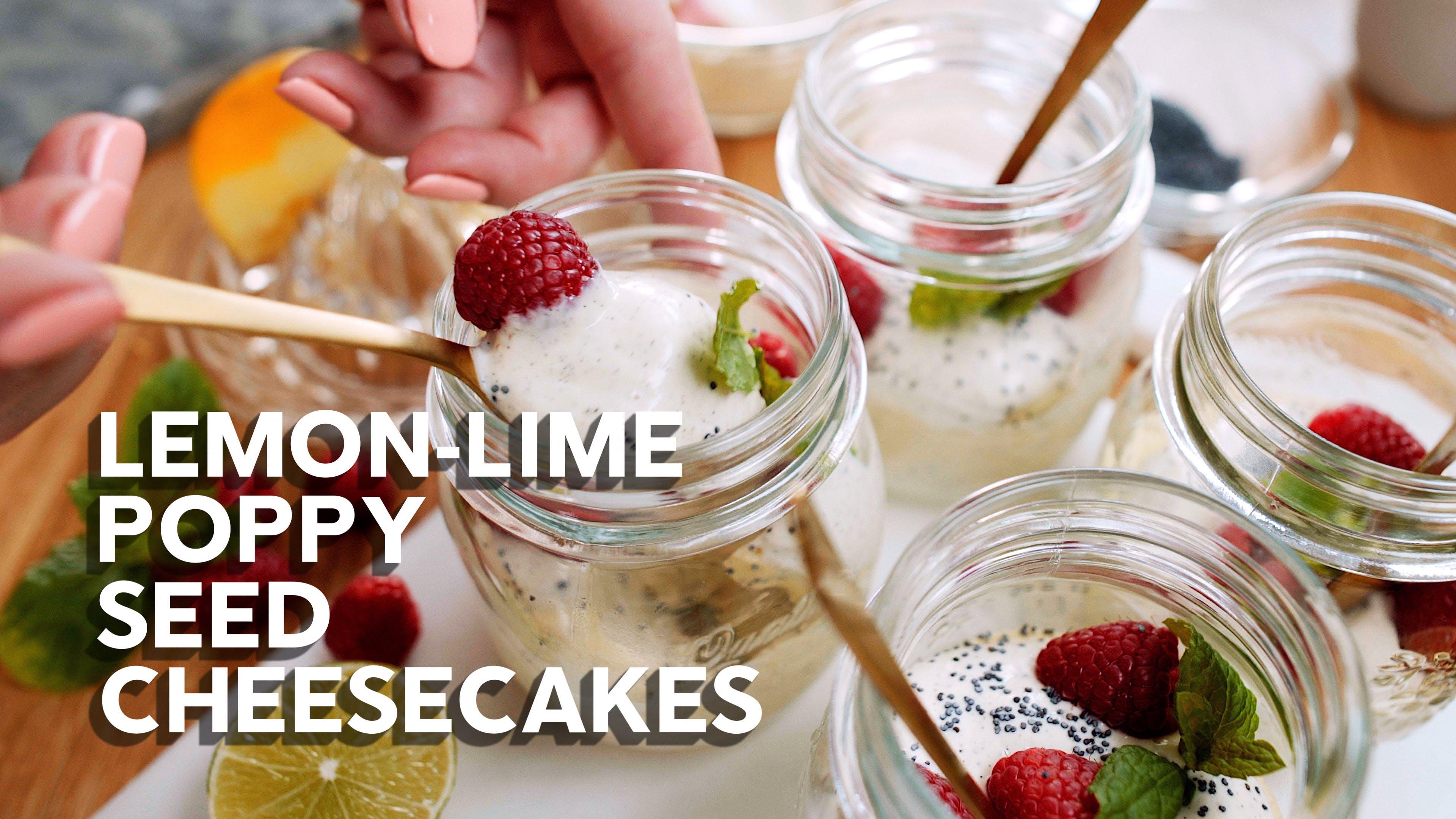 Matlagningsvideo: Mini-cheesecakes med vallmo och citrus