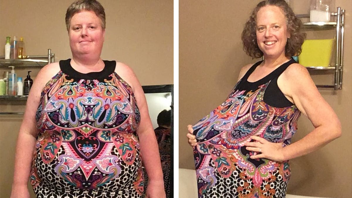 Stephanie gick ner fantastiska 68 kilo