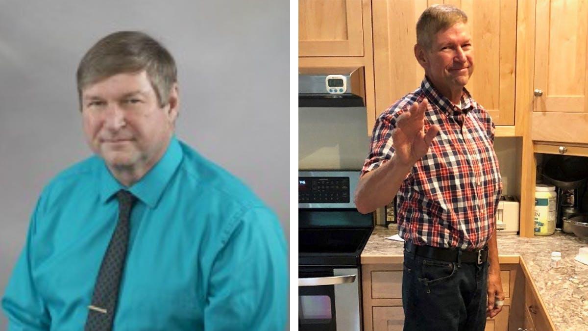 Så vann Steve sin livslånga kamp med vikten